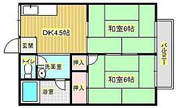 酒井マンション[1階]の間取り