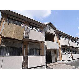 奈良県高市郡高取町観覚寺の賃貸アパートの外観
