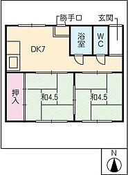 [一戸建] 岐阜県各務原市那加南栄町 の賃貸【/】の間取り