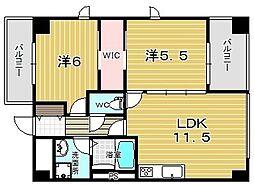 Casa Bonita カーサボニータ[2階]の間取り