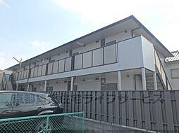 京都府京都市南区上鳥羽唐戸町の賃貸アパートの外観