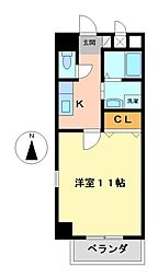 コートモーリス新道[3階]の間取り