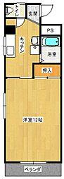 後藤マンション[110号室号室]の間取り