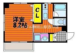スタシオン電車みち[10階]の間取り