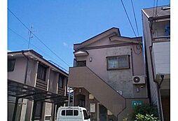京都府京都市伏見区南尼崎町の賃貸アパートの外観