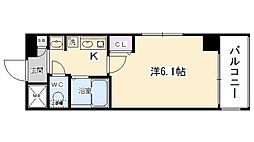 エステムプラザ京都五条大橋[903号室号室]の間取り
