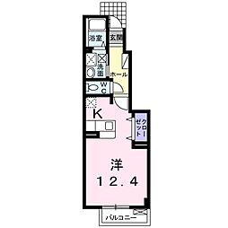コスモアーク[1階]の間取り
