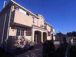 千葉県柏市岩井の賃貸アパートの外観