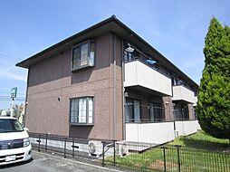 カーサベッラA棟[2階]の外観