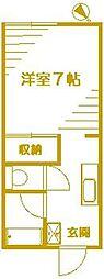 足立アパートハイツ[1階]の間取り