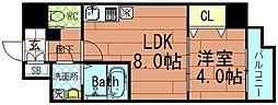 プロシード大阪NB3[3階]の間取り
