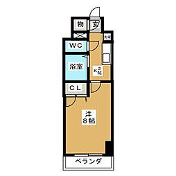 現代ハウス大須[9階]の間取り