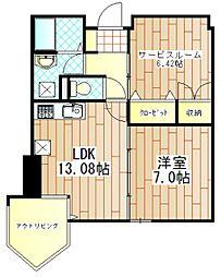アネーロ[2階]の間取り