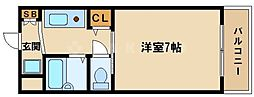 レスポワール東[4階]の間取り