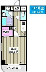 TOCCHI 1番館[9階]の間取り