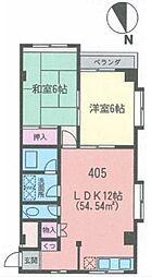 センタービレッジグリーン[2階]の間取り