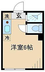 TCRE東十条[3階]の間取り