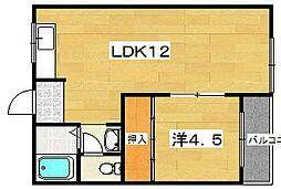 MAYUMIハイツ 1・2・3番館[1階]の間取り
