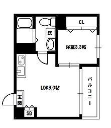 F maison VIOLA[2階]の間取り