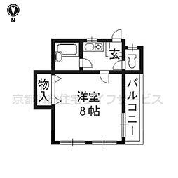 昭和屋ビル[3-B号室]の間取り