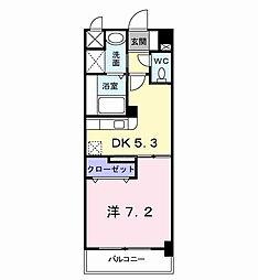 エス・テイト守恒[3階]の間取り