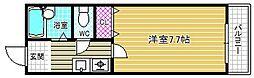 デッセコモド[2階]の間取り