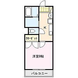 ウインドコート[2階]の間取り