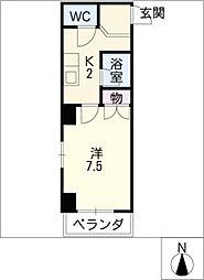 シティーライフ正木[6階]の間取り
