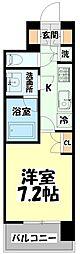 仙台市営南北線 北四番丁駅 徒歩10分の賃貸マンション 6階1Kの間取り