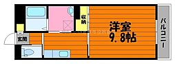 岡山県総社市真壁丁目なしの賃貸マンションの間取り