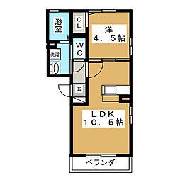 RESPIRO[3階]の間取り
