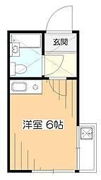 すいーと久米川[2階]の間取り