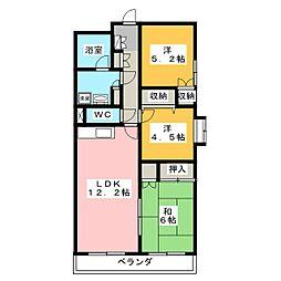 コマンドモジュール[2階]の間取り