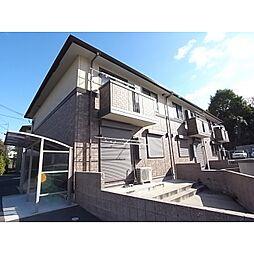 奈良県奈良市三碓町の賃貸アパートの外観