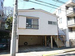 東京都目黒区碑文谷3丁目の賃貸アパートの外観