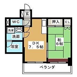 丸の内IHビル[7階]の間取り