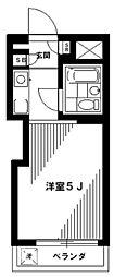 新井薬師前駅 5.3万円