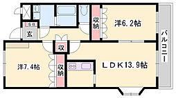妻鹿駅 6.5万円