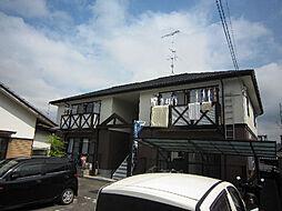 愛媛県松山市東野4丁目の賃貸アパートの外観