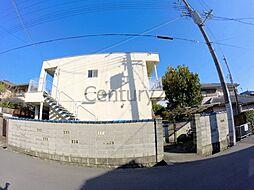 大阪府箕面市桜ケ丘3丁目の賃貸マンションの外観
