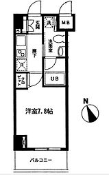 CASAグリーチネ[2階]の間取り