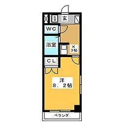 JOYFUL  PALACE[1階]の間取り
