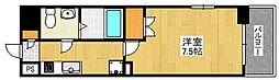 リファレンス祇園[4階]の間取り