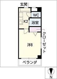 ComfortSpace高根[4階]の間取り