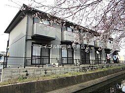 岡山県岡山市中区清水2丁目の賃貸アパートの外観