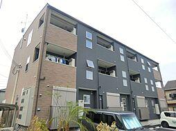 大阪府大阪市東住吉区照ケ丘矢田2丁目の賃貸アパートの外観