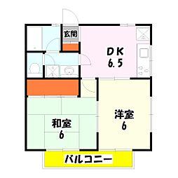 第三ニューコーポ金井[201号室]の間取り