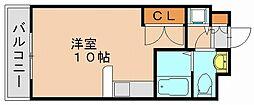 カーサ箱崎[5階]の間取り