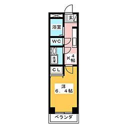 プチ・コンフォール[1階]の間取り