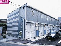愛知県長久手市東狭間の賃貸アパートの外観